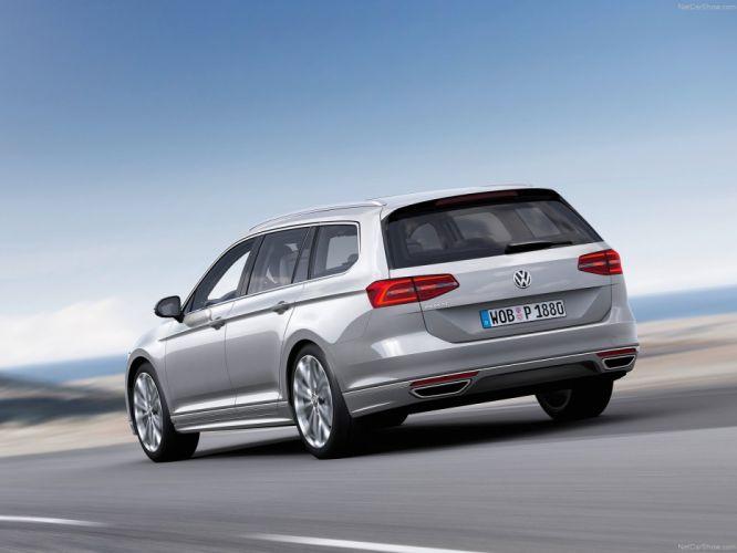 Volkswagen Passat Variant 2014 wallpaper