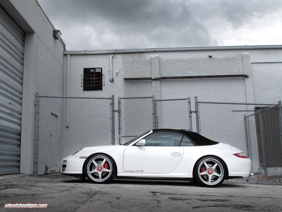 Porsche Carrera GTS Convertible wallpaper