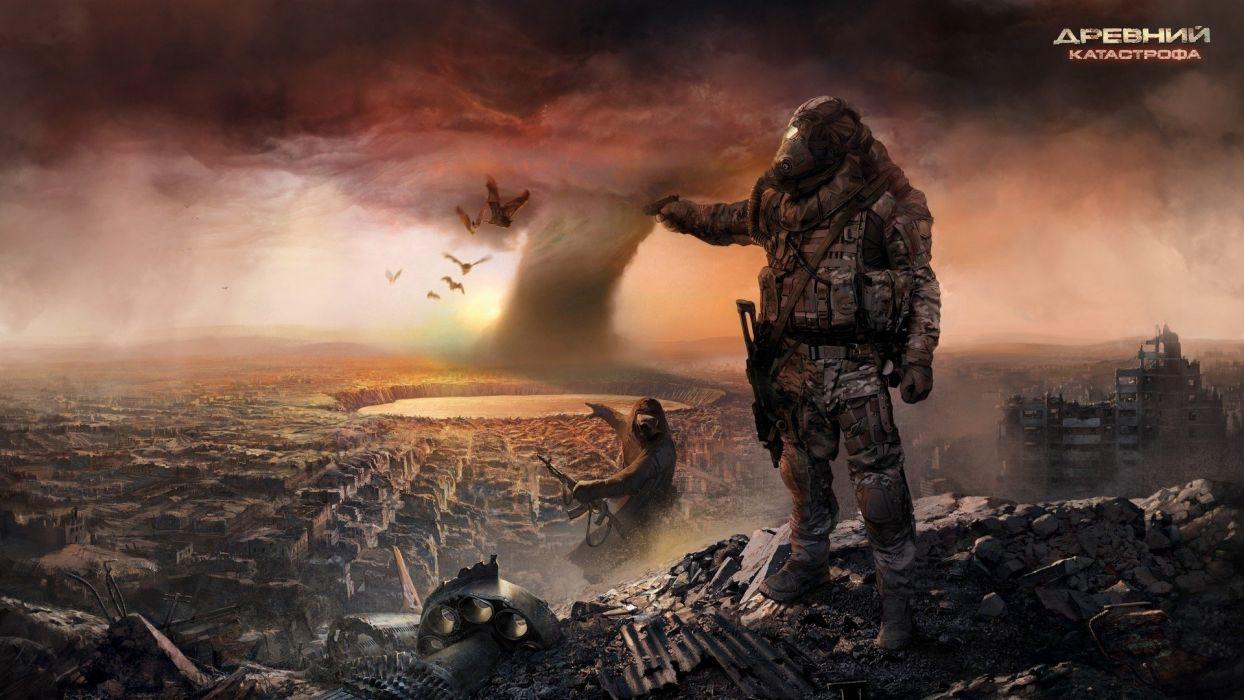 War weapon destruction wallpaper