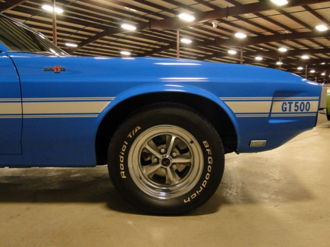 1969 Ford Mustang Shleby GT500 muscle hot rod rods (3) wallpaper
