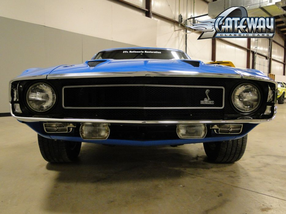 1969 Ford Mustang Shleby GT500 muscle hot rod rods (12) wallpaper