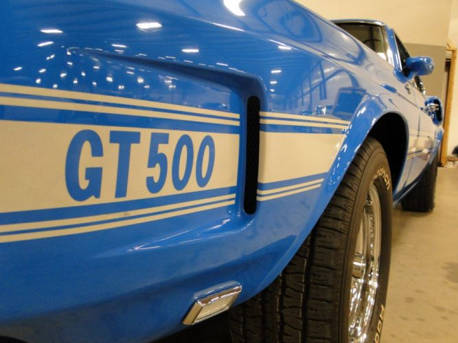 1969 Ford Mustang Shleby GT500 muscle hot rod rods (8) wallpaper