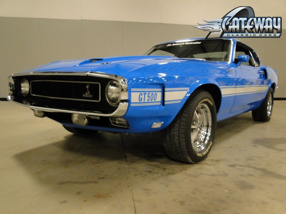 1969 Ford Mustang Shleby GT500 muscle hot rod rods (10) wallpaper