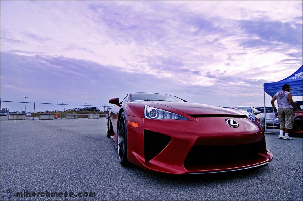 Lexus LFA wallpaper