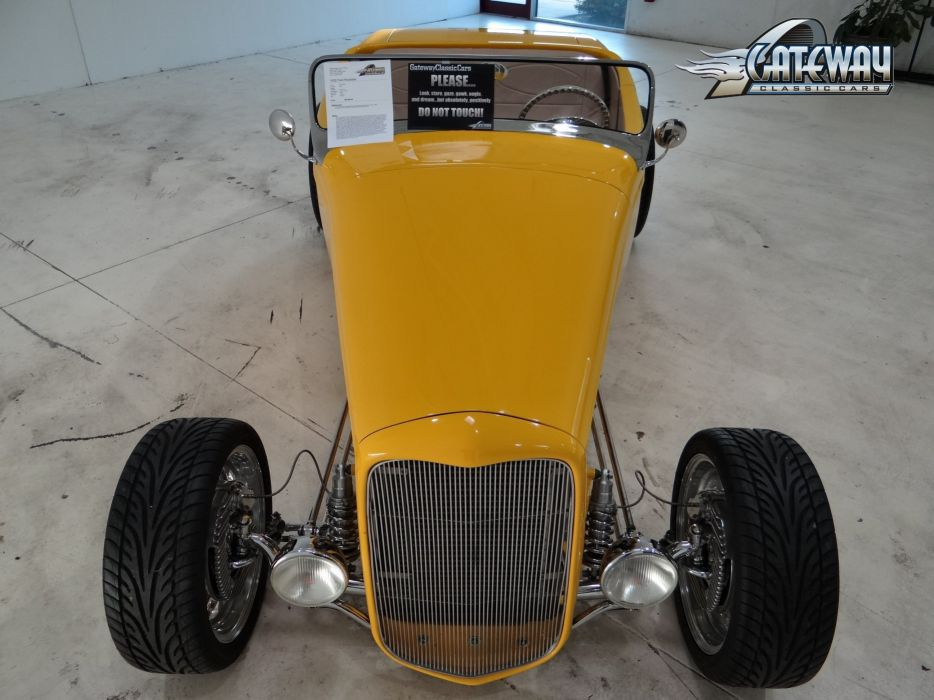 1932 Ford Roadster hot rod rods retro (13) wallpaper