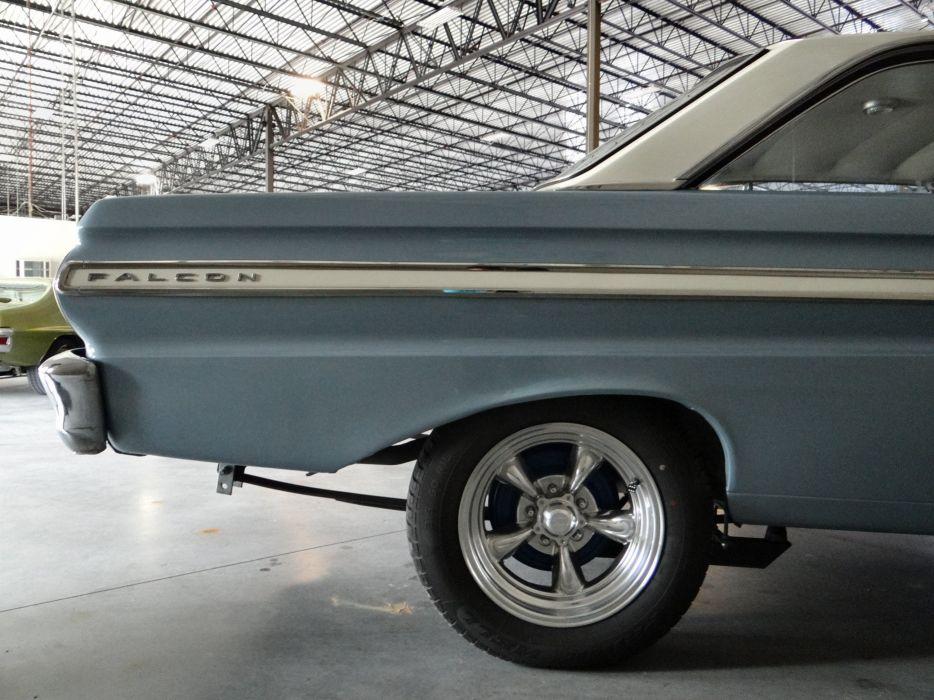 1965 Ford Falcon Futura muscle hot rod rods classic (29) wallpaper