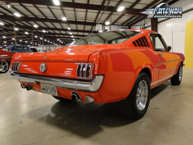 1966 Ford Mustang Fastback muscle classic hot rod rods (3) wallpaper