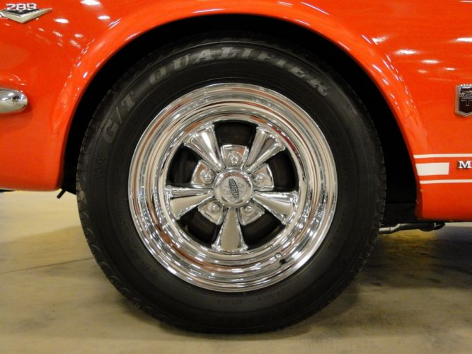 1966 Ford Mustang Fastback muscle classic hot rod rods (13) wallpaper