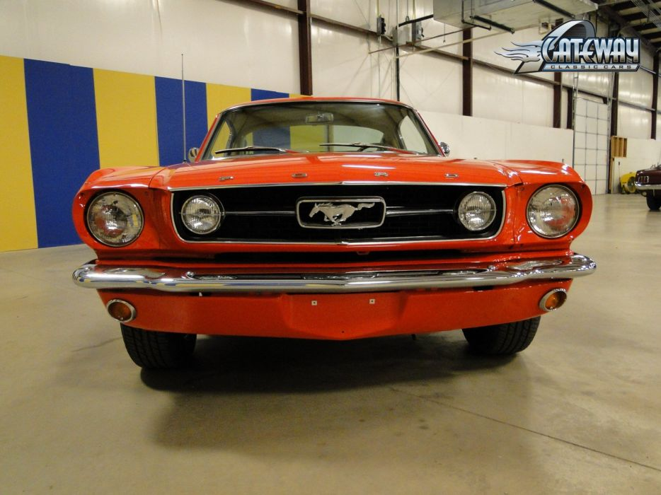 1966 Ford Mustang Fastback muscle classic hot rod rods (16) wallpaper