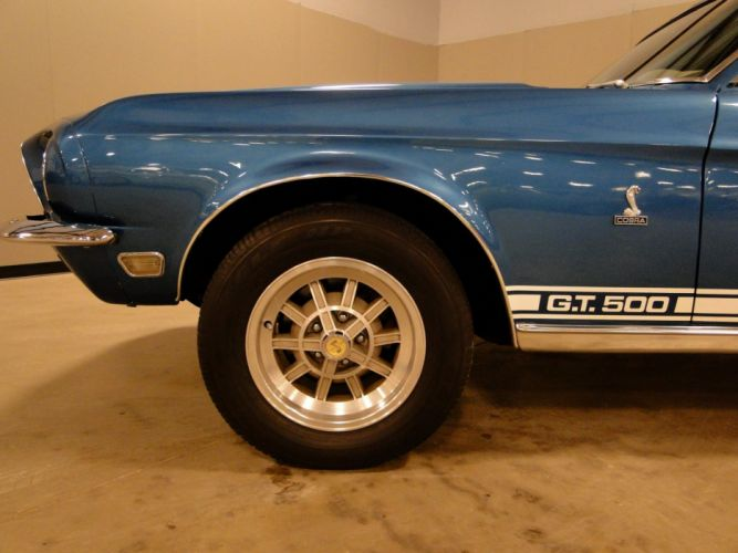 1968 Ford Mustang Shelby GT500 muscle classic (8) wallpaper