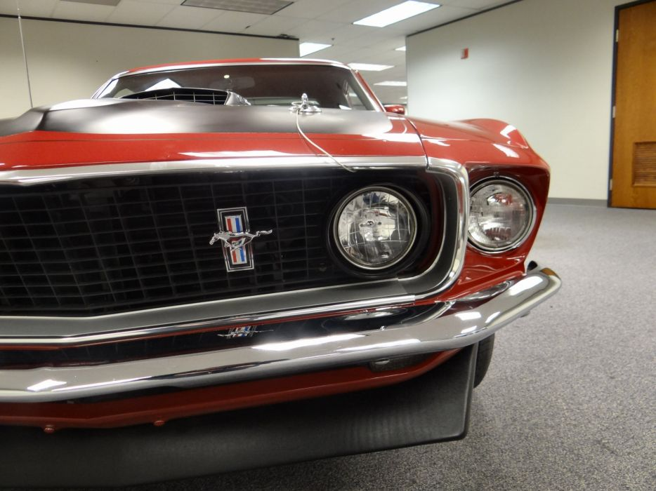 1969 Ford Mustang Mach-1 muscle classic (1) wallpaper