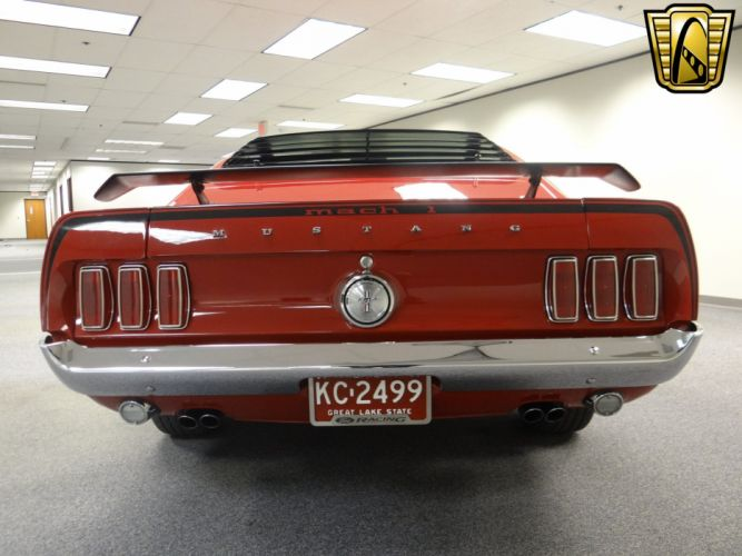 1969 Ford Mustang Mach-1 muscle classic (4) wallpaper
