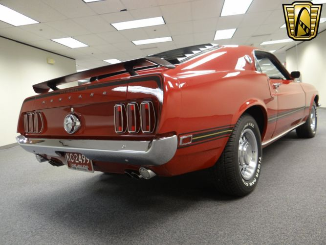 1969 Ford Mustang Mach-1 muscle classic (6) wallpaper