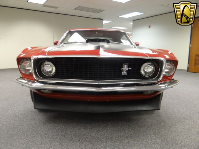 1969 Ford Mustang Mach-1 muscle classic (23) wallpaper