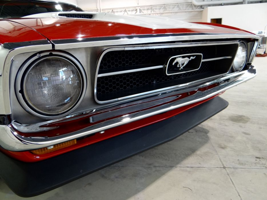 1971 Ford Mustang muscle classic hot rod rods (10) wallpaper