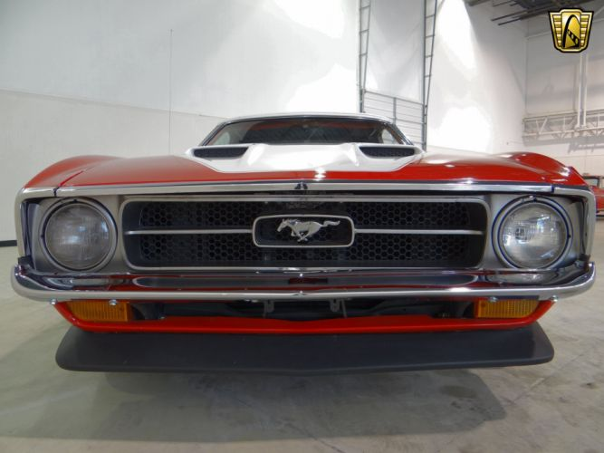1971 Ford Mustang muscle classic hot rod rods (19) wallpaper