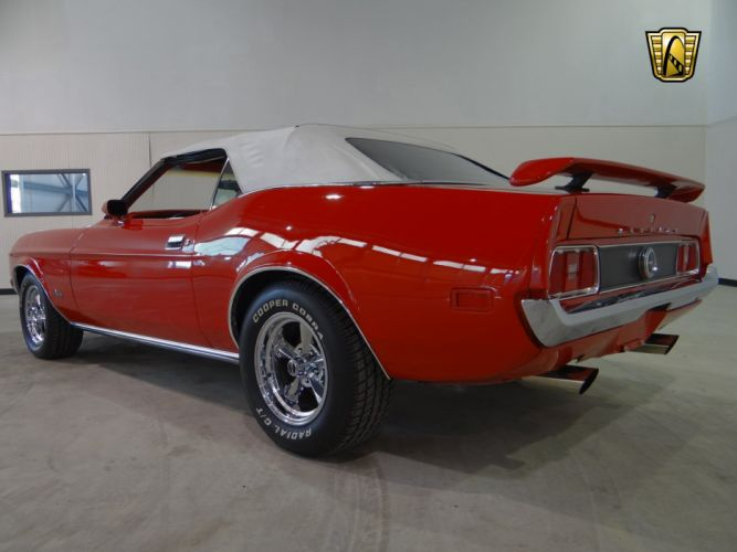 1971 Ford Mustang muscle classic hot rod rods (29) wallpaper