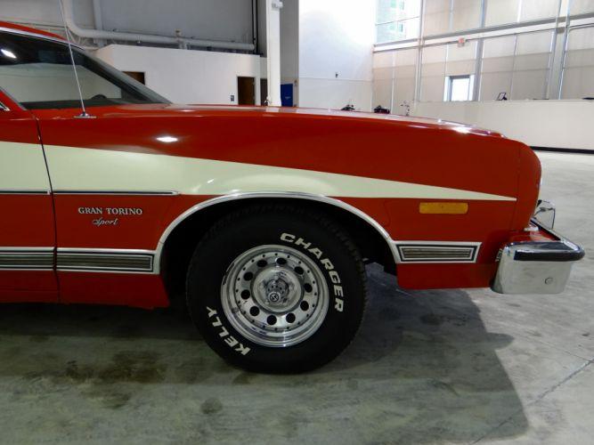 1973 Ford Gran Torino Sport muscle classic (3) wallpaper