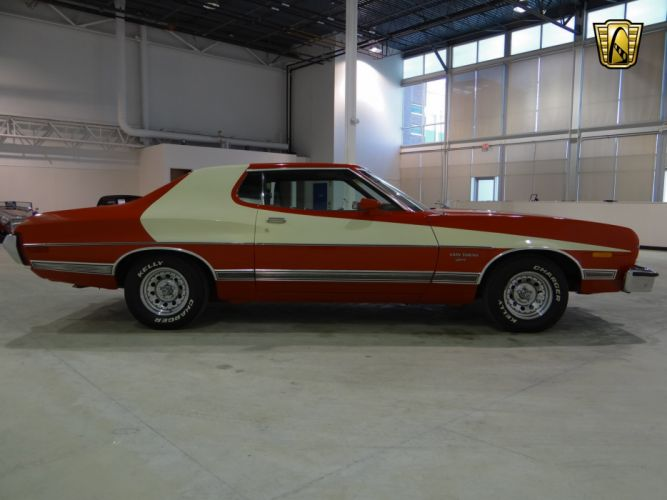 1973 Ford Gran Torino Sport muscle classic (26) wallpaper