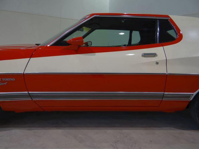 1973 Ford Gran Torino Sport muscle classic (35) wallpaper