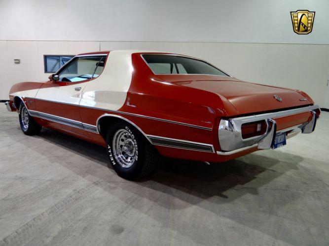 1973 Ford Gran Torino Sport muscle classic (31) wallpaper
