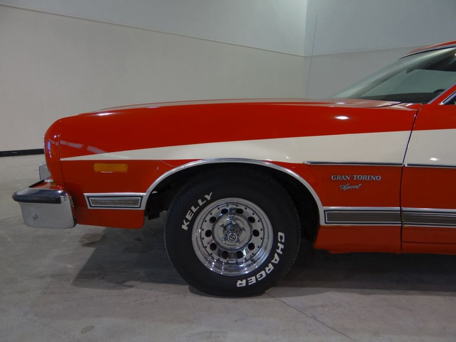 1973 Ford Gran Torino Sport muscle classic (33) wallpaper