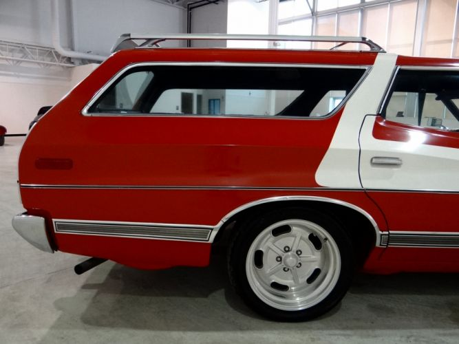 1973 Ford Gran Torino stationwagon muscle classic hot rod rods (1) wallpaper
