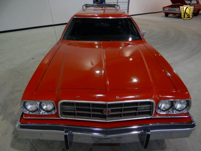 1973 Ford Gran Torino stationwagon muscle classic hot rod rods (12) wallpaper
