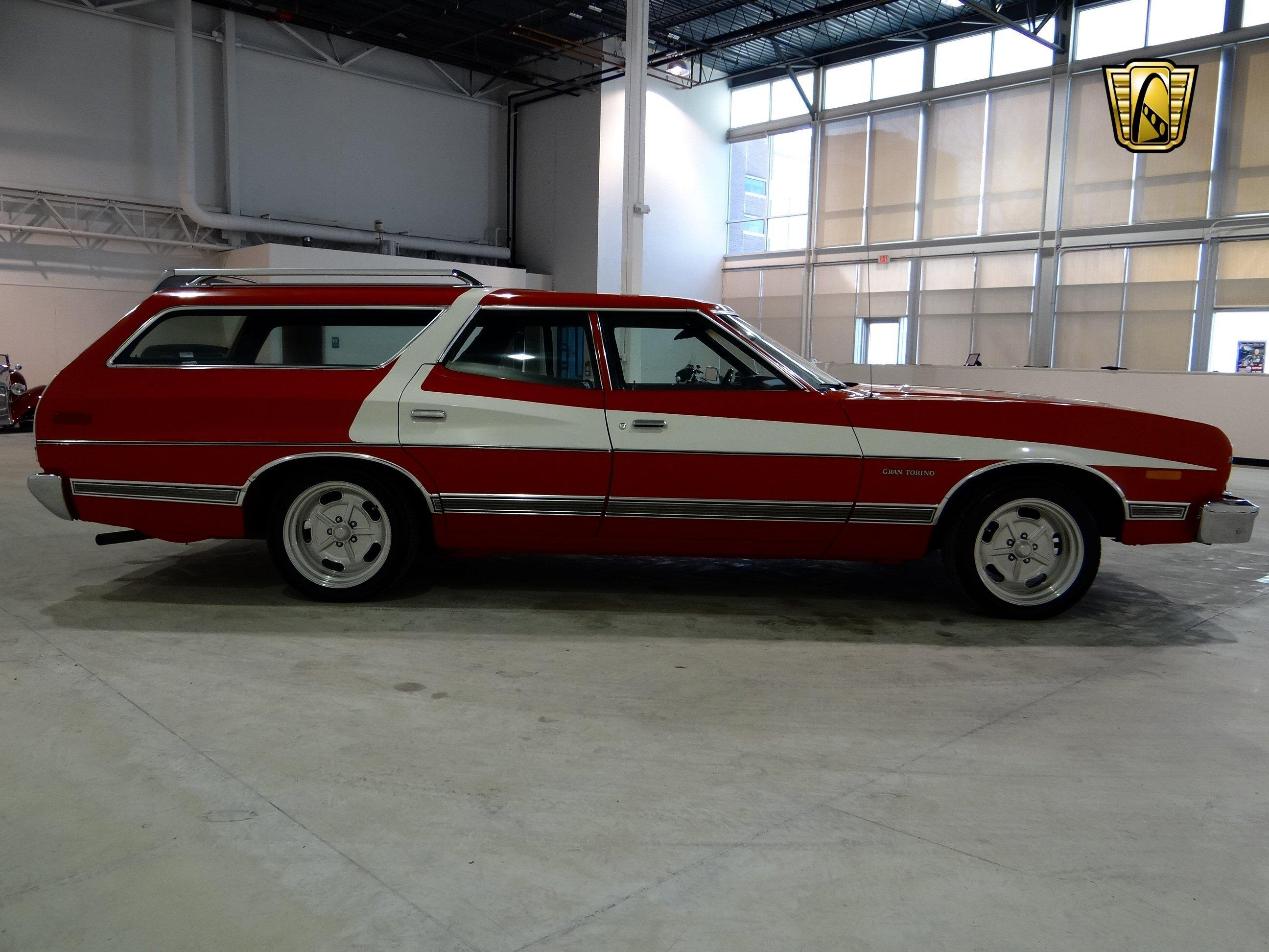 1973 Ford Gran Torino Stationwagon Muscle Classic Hot Rod