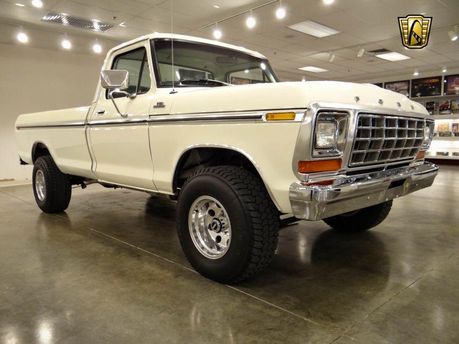1979 Ford F150 4x4 pickup (22) wallpaper