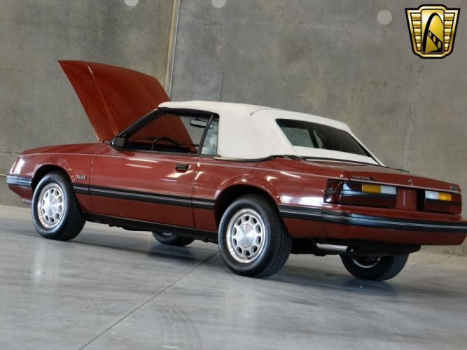 1984 Ford Mustang GLX (25) wallpaper