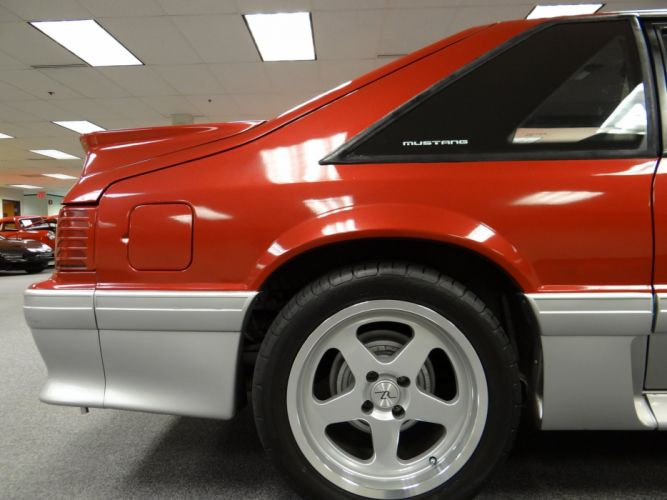1991 Ford Mustang G-T muscle (1) wallpaper