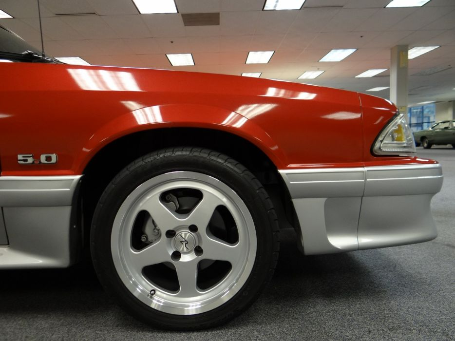 1991 Ford Mustang G-T muscle (2) wallpaper
