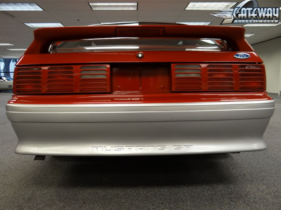 1991 Ford Mustang G-T muscle (9) wallpaper
