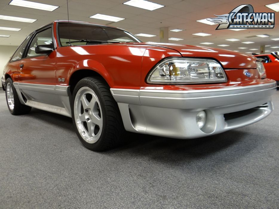 1991 Ford Mustang G-T muscle (14) wallpaper