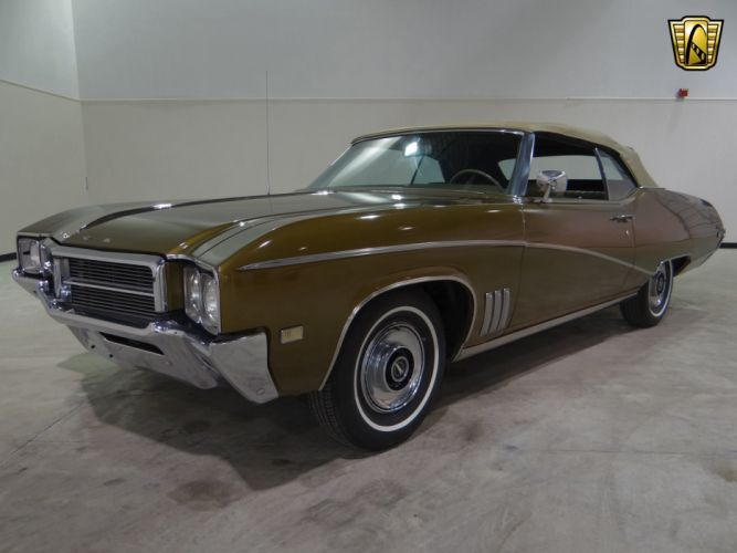 1969 Buick Skylark Custom SKC classic (19) wallpaper