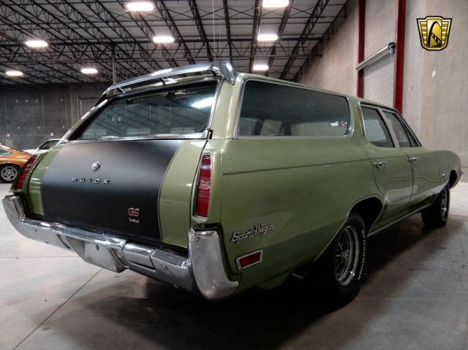 1971 Buick Sport Wagon G-S stationwagon muscle classic (23) wallpaper