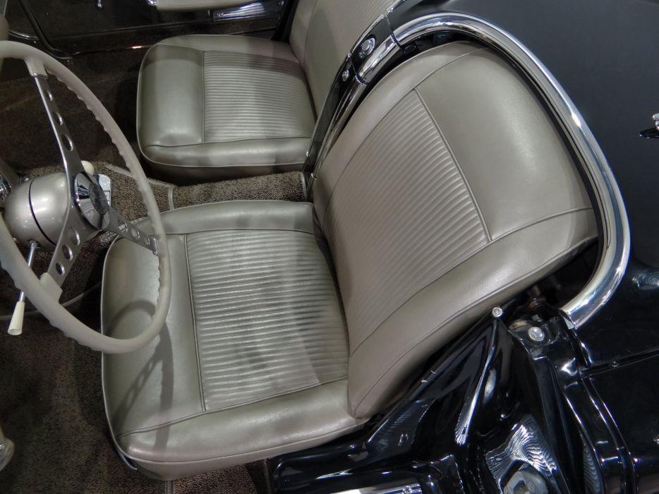 1961 Chevrolet Corvette muscle supercar classic wallpaper