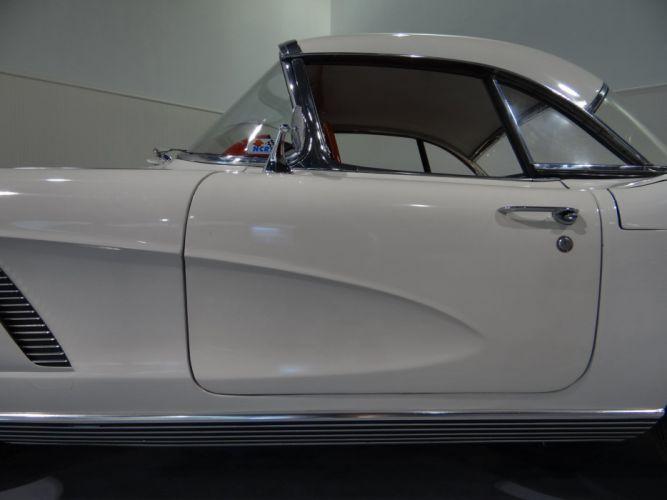 1962 Chevrolet Corvette muscle classic supercar wallpaper