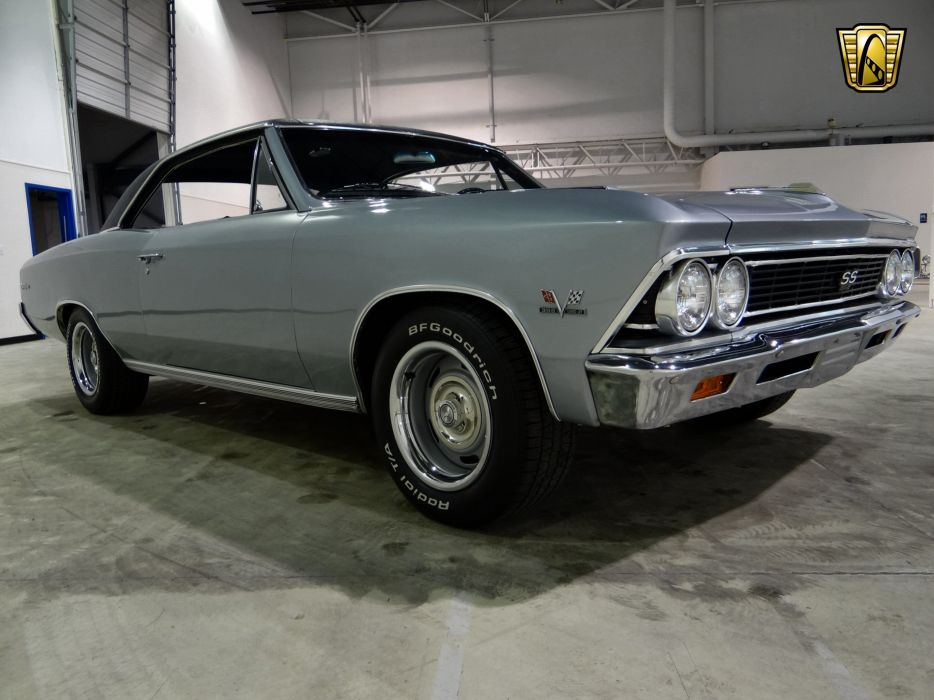 1966 Chevrolet Chevelle S-S muscle classic wallpaper