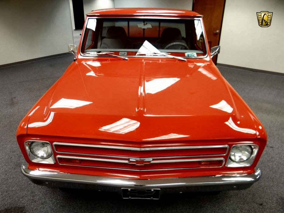 1967 Chevrolet C10 pickup got rod rods classic wallpaper
