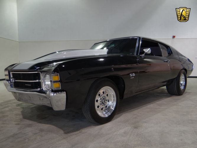1971 Chevrolet Chevelle S-S Clone muscle hot rod rods classic wallpaper