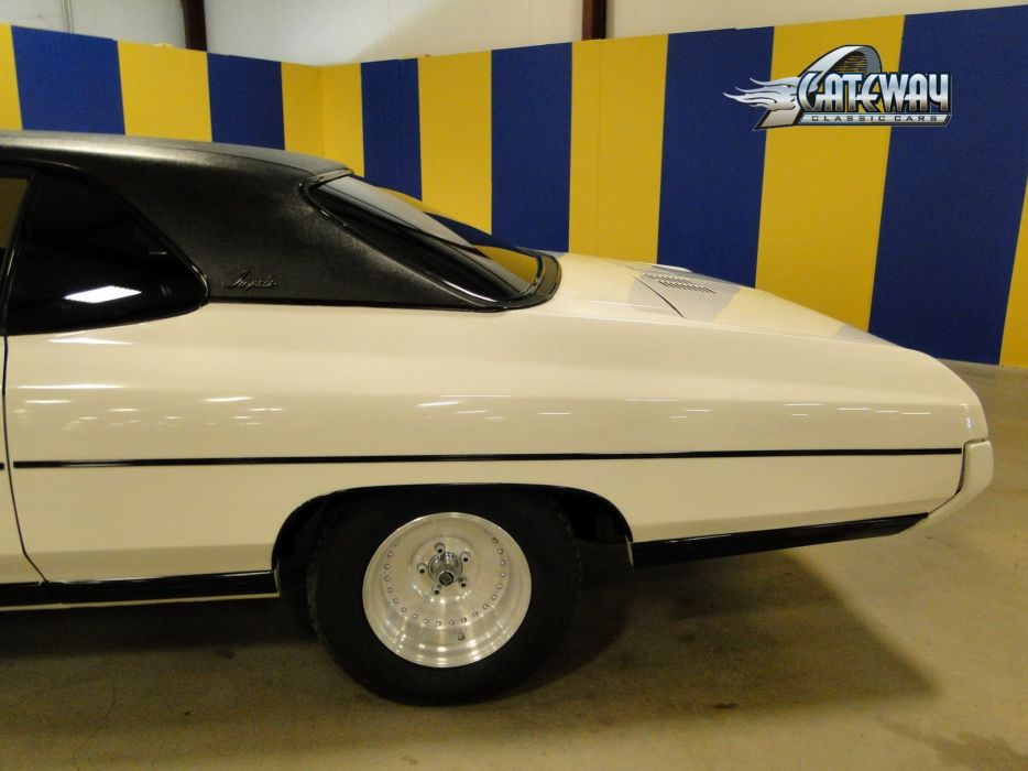 1971 Chevrolet Impala classic muscle hot rod rods wallpaper