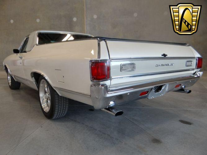 1972 Chevrolet El-Camino pickup muscle hot rod rods classic camino wallpaper