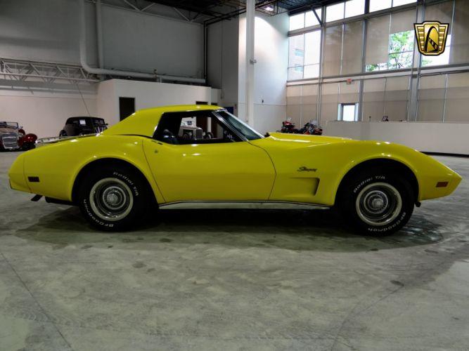 1975 Chevrolet Corvette L-82 muscle supercar wallpaper