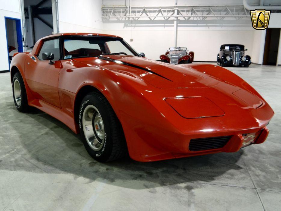 1979 Chevrolet Corvette muscle supercar wallpaper