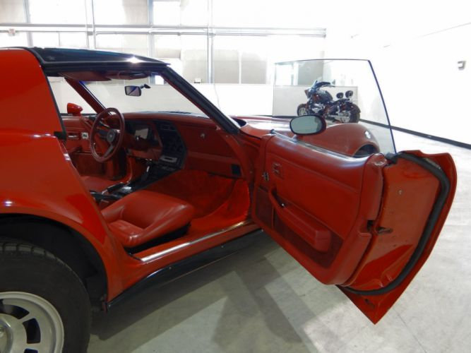 1981 Chevrolet Corvette muscle supercar wallpaper