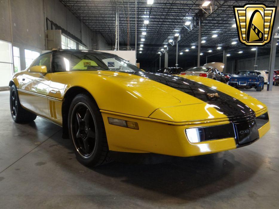 1984 Chevrolet Corvette Grand Sport muscle supercar  wallpaper