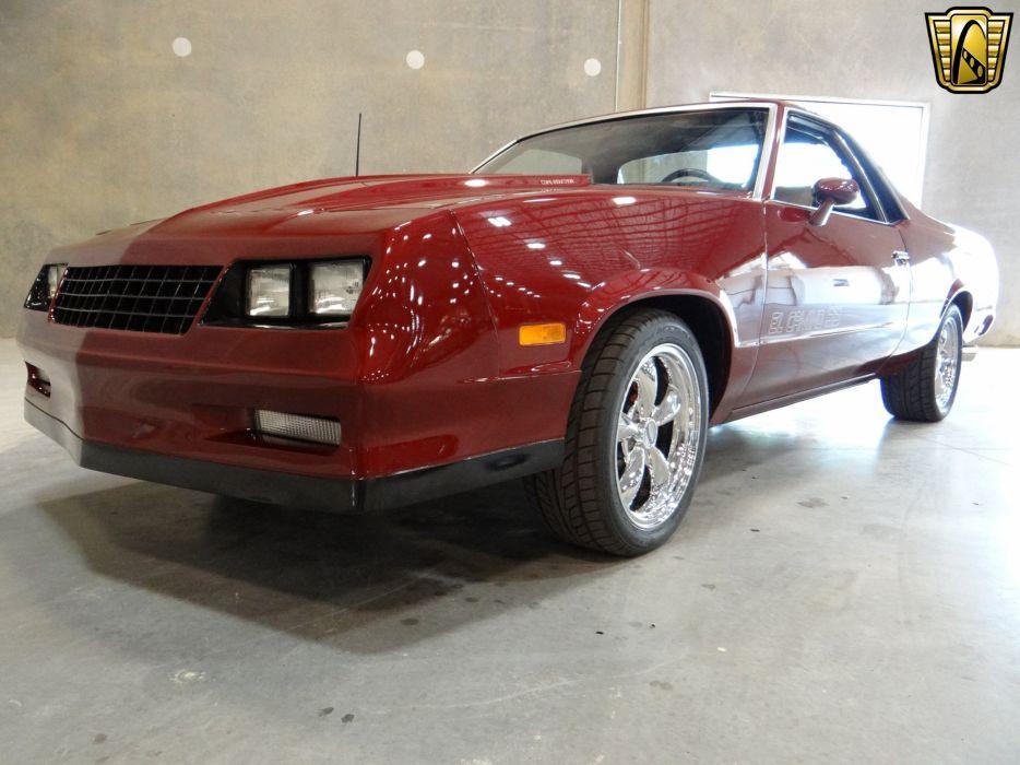 1985 Chevrolet El-Camino S-S pickup hot rod rods camino wallpaper