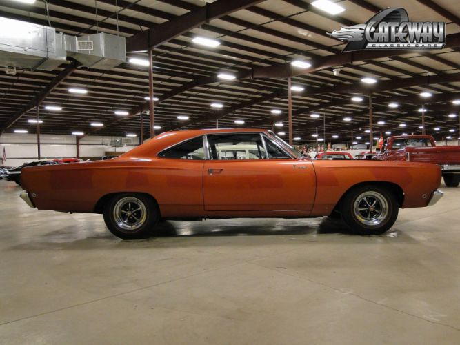 1968 Plymouth Road Runner Hemi muscle classic wallpaper